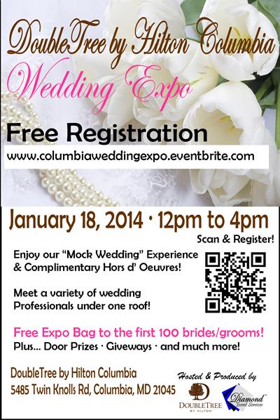 DoubleTee by Hilton Columbia Wedding Expo Flyer