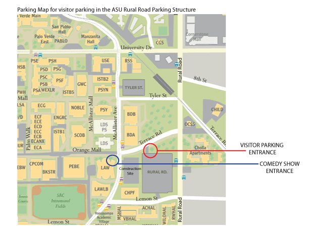 Parking and Event Map