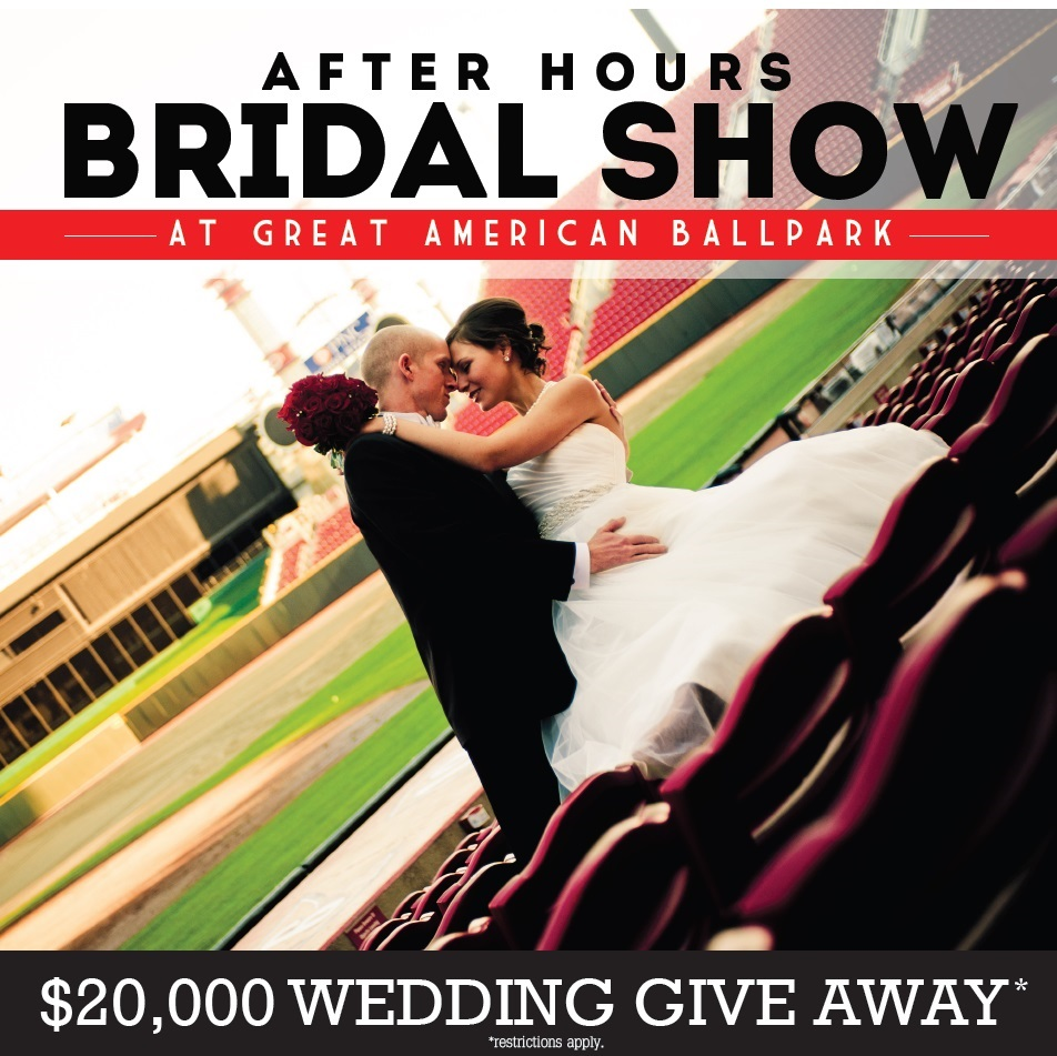 afterhours bridal show greatamerican ball park wedding giveaway tickets