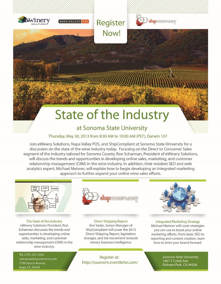 State of the Industry at Sonoma State University