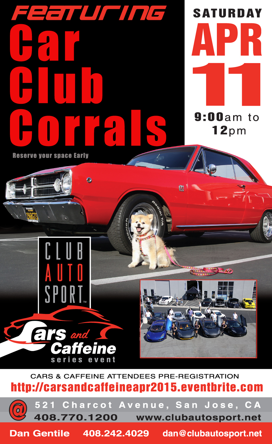 Club Auto Sport Cars And Coffee