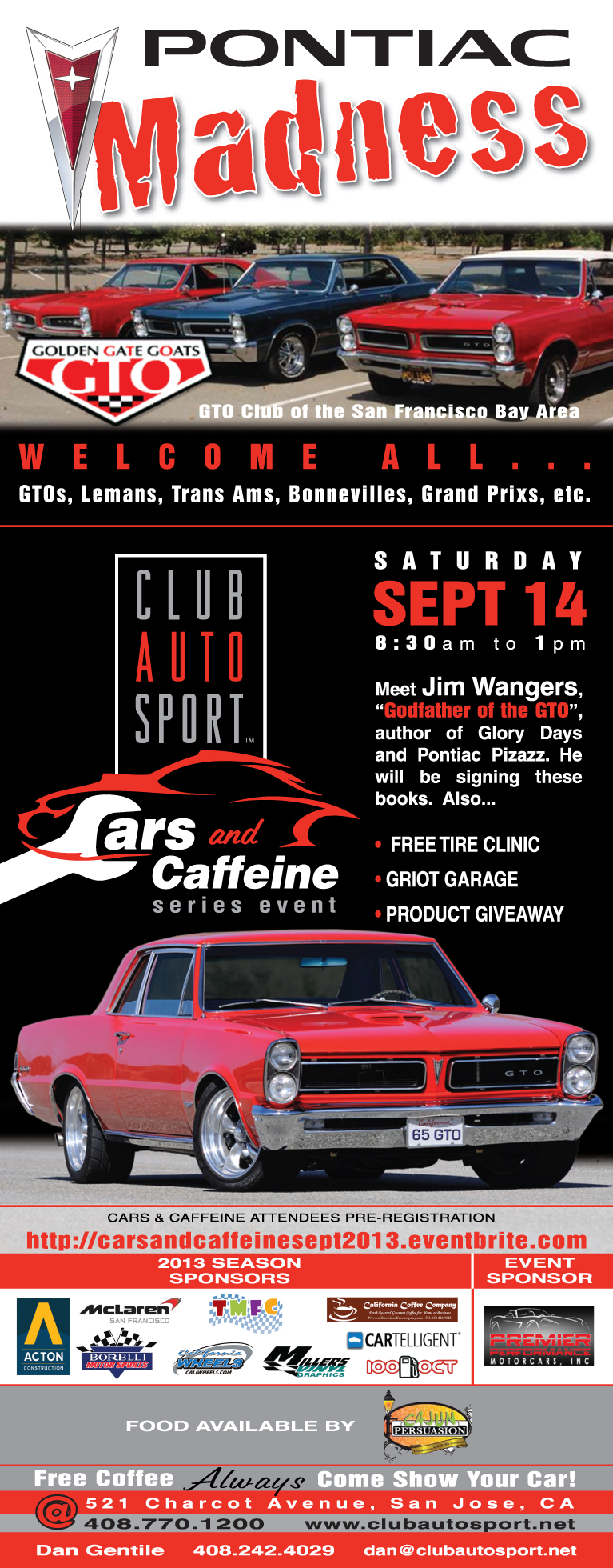 Cars & Caffeine Sept 2013