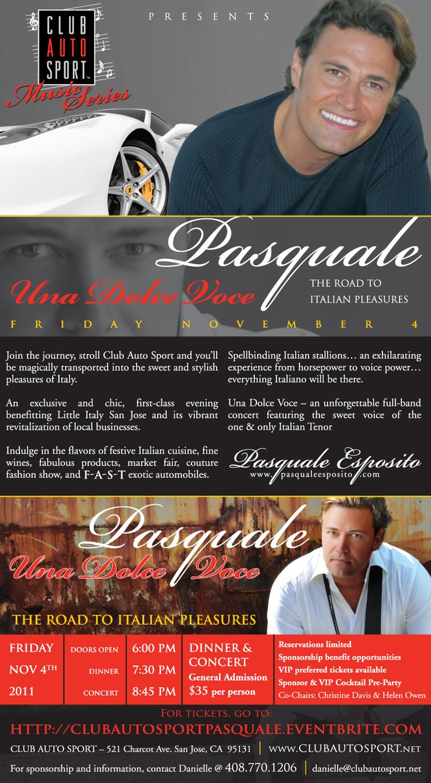 Pasquale Invitation