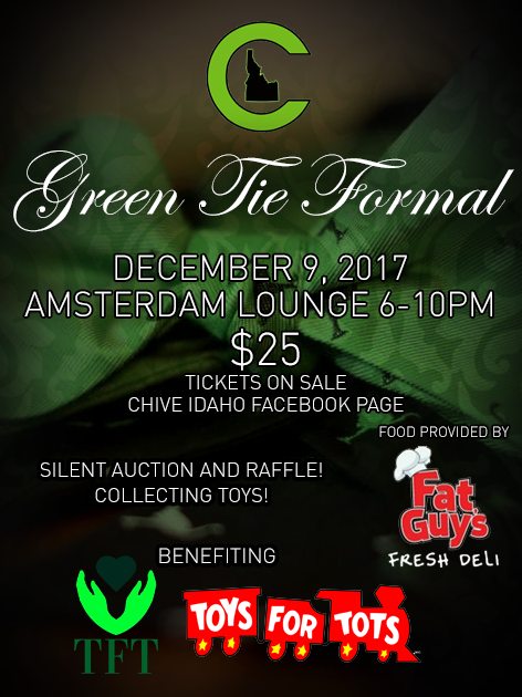 A Formal Dress Christmas Party to collect toys and collect money for Toys for Tots and The Forgotten Teens Foundation