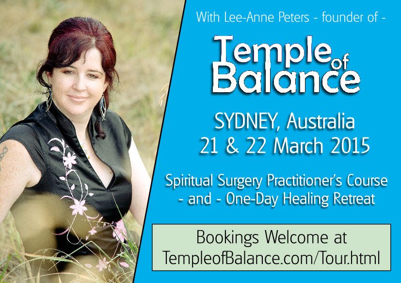 Temple of Balance in Sydney