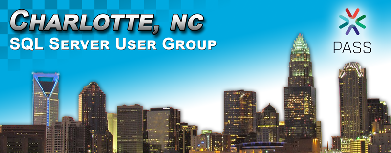 Charlotte SQL User Group banner