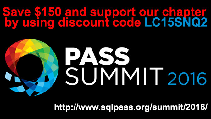 PASS Summit Discount Code