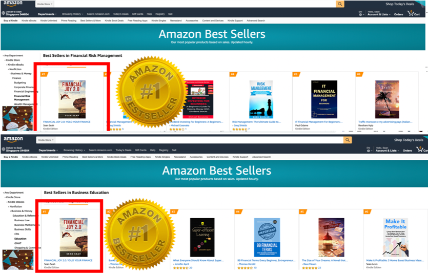 Our Amazon Best-Seller Books