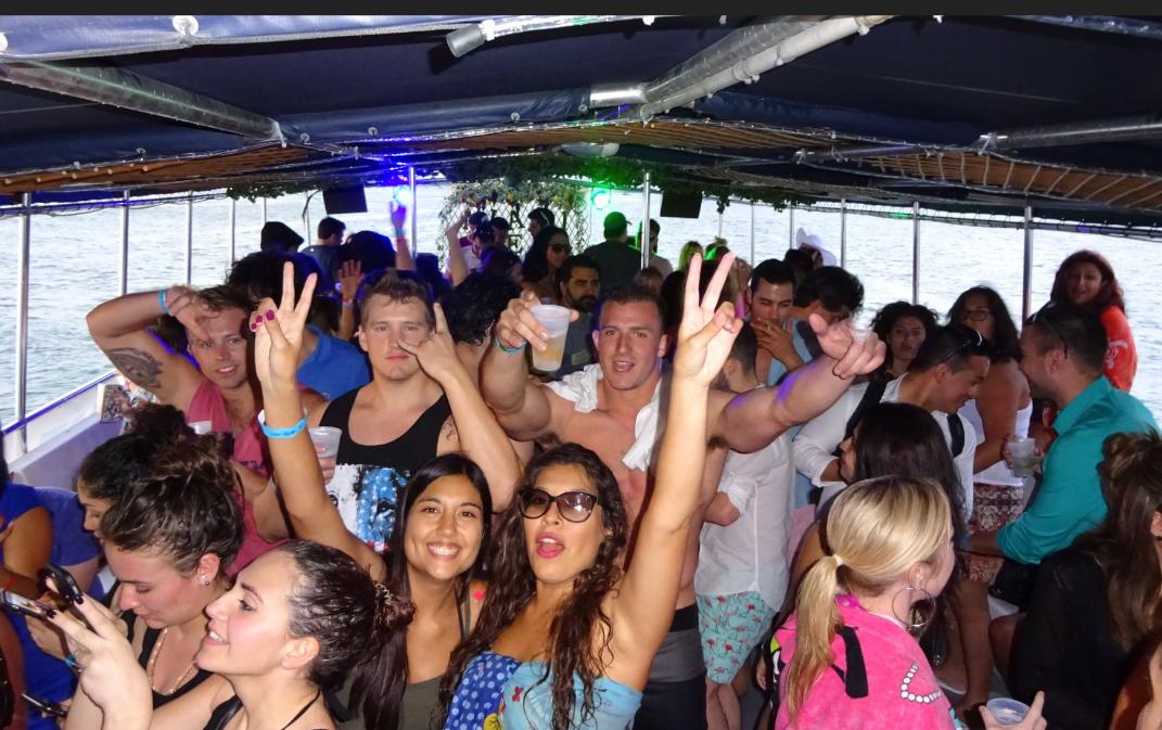 Miami Booze Cruise | Miami Party Boat- HipHopClubmiami.com