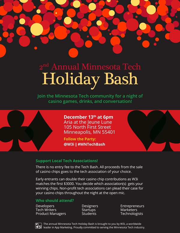 2nd Annual Minnesota Tech Holiday Bash