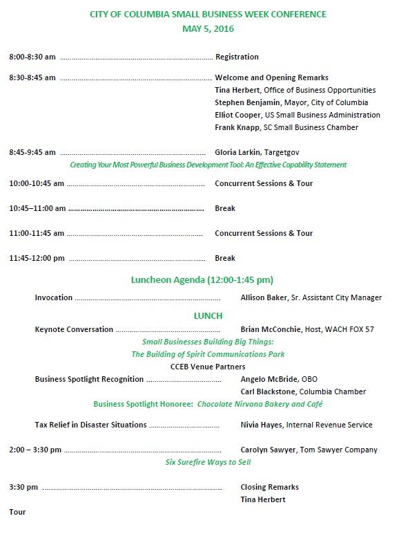 SBW agenda