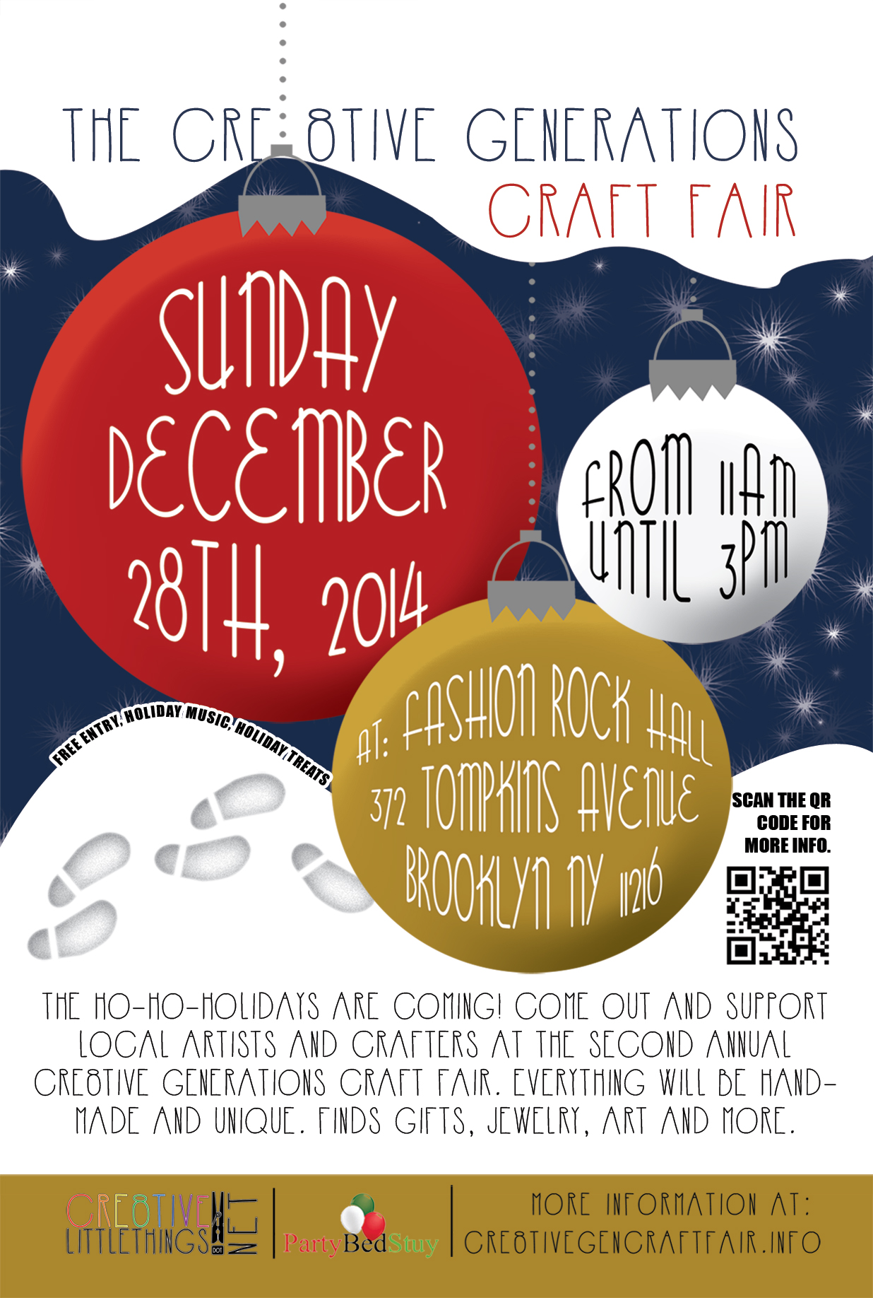 Cre8tive Generations Craft Fair Flyer