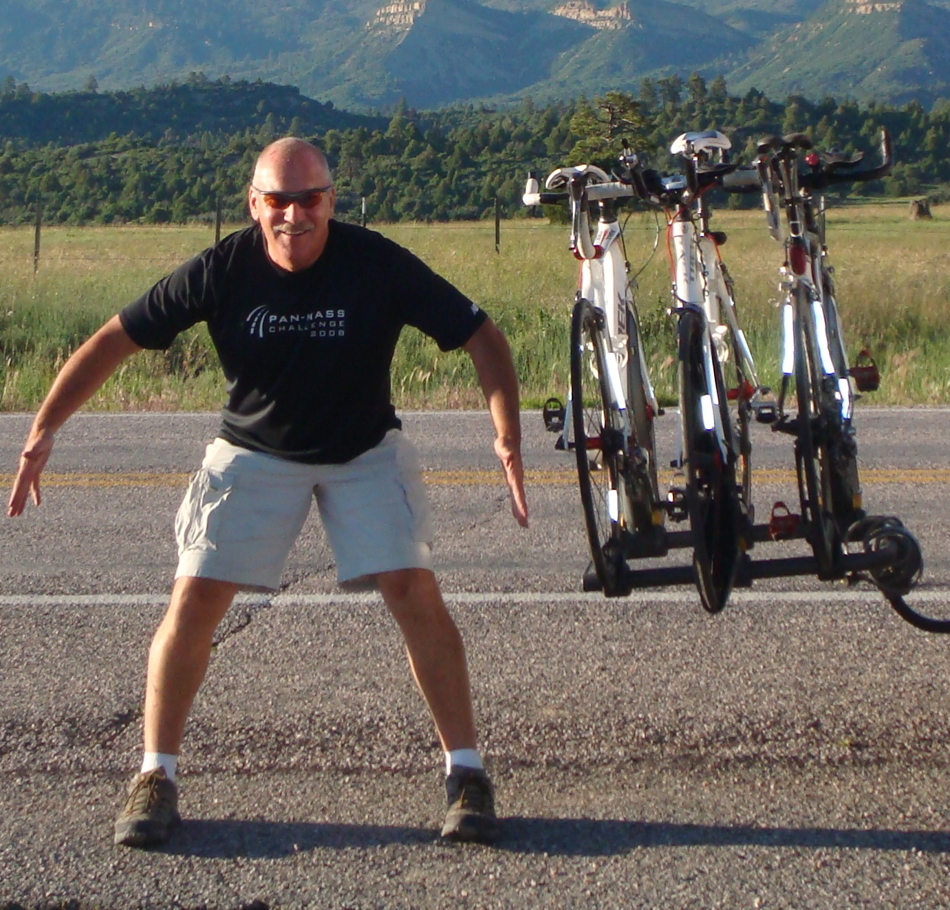 Warren while on RAAM 2010