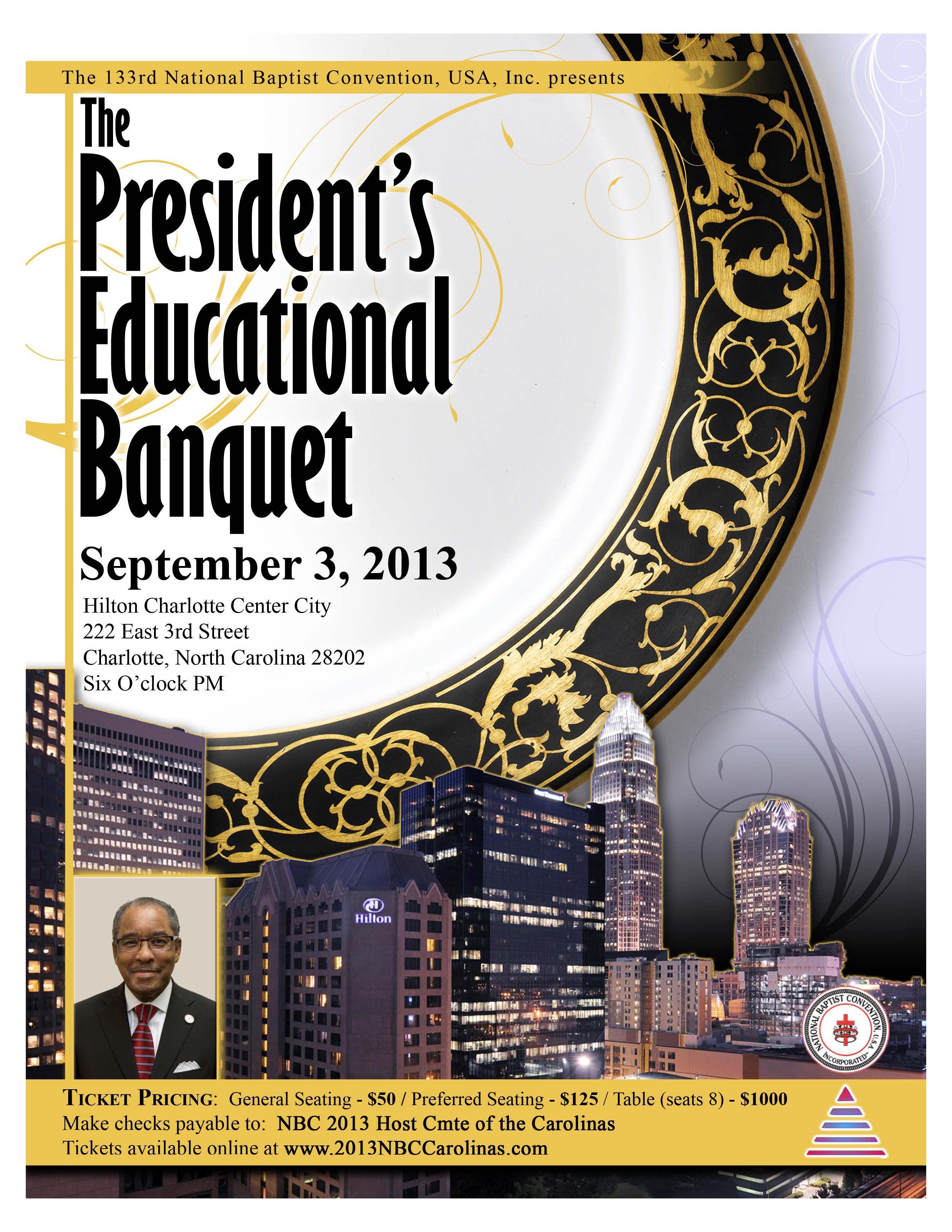President's Educational Banquet