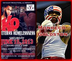 Monreco Goldston June 15th Pro-Debut Fight Washington, DC...