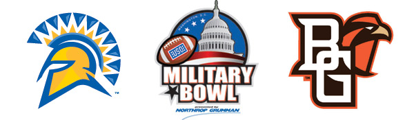Military Bowl - SJSU vs. Bowling Green