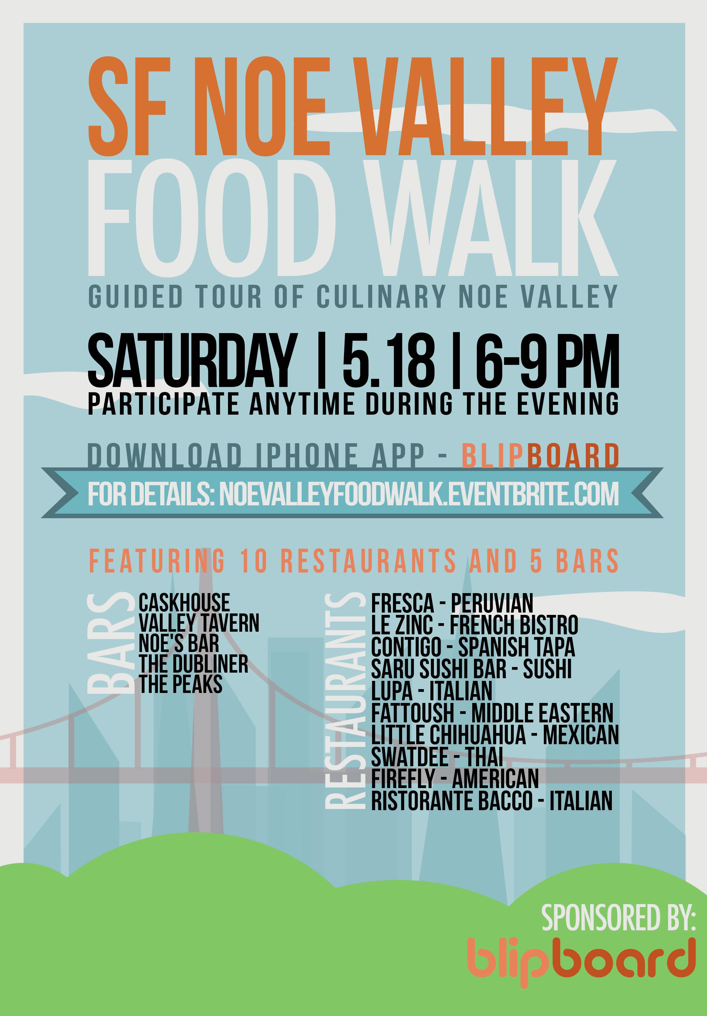 SF Noe Valley Food Walk 2013