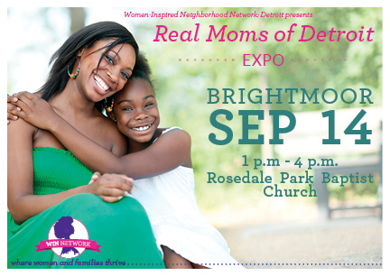 Real Moms of Detroit Expo: Brightmoor
