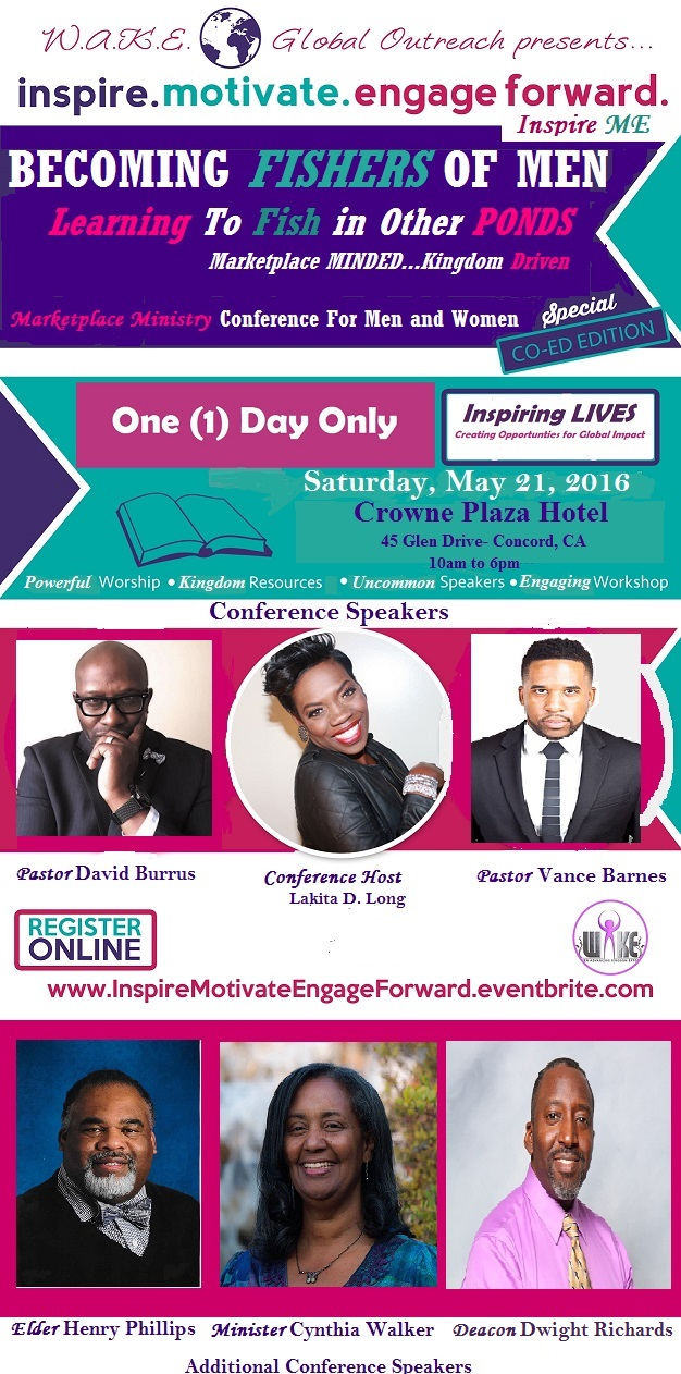 Inspire Me Conference May 2016