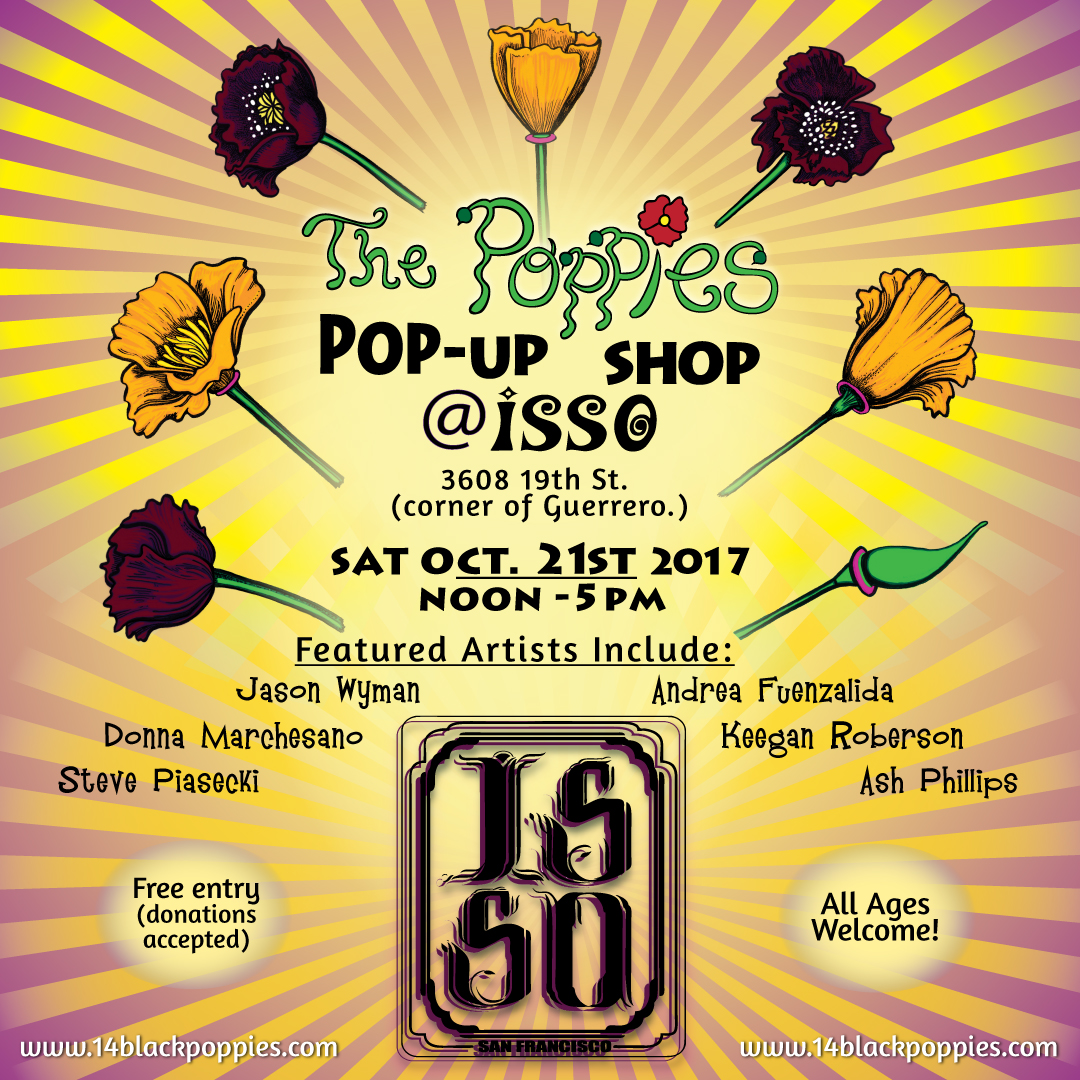 The Poppies Pop Up Flyer