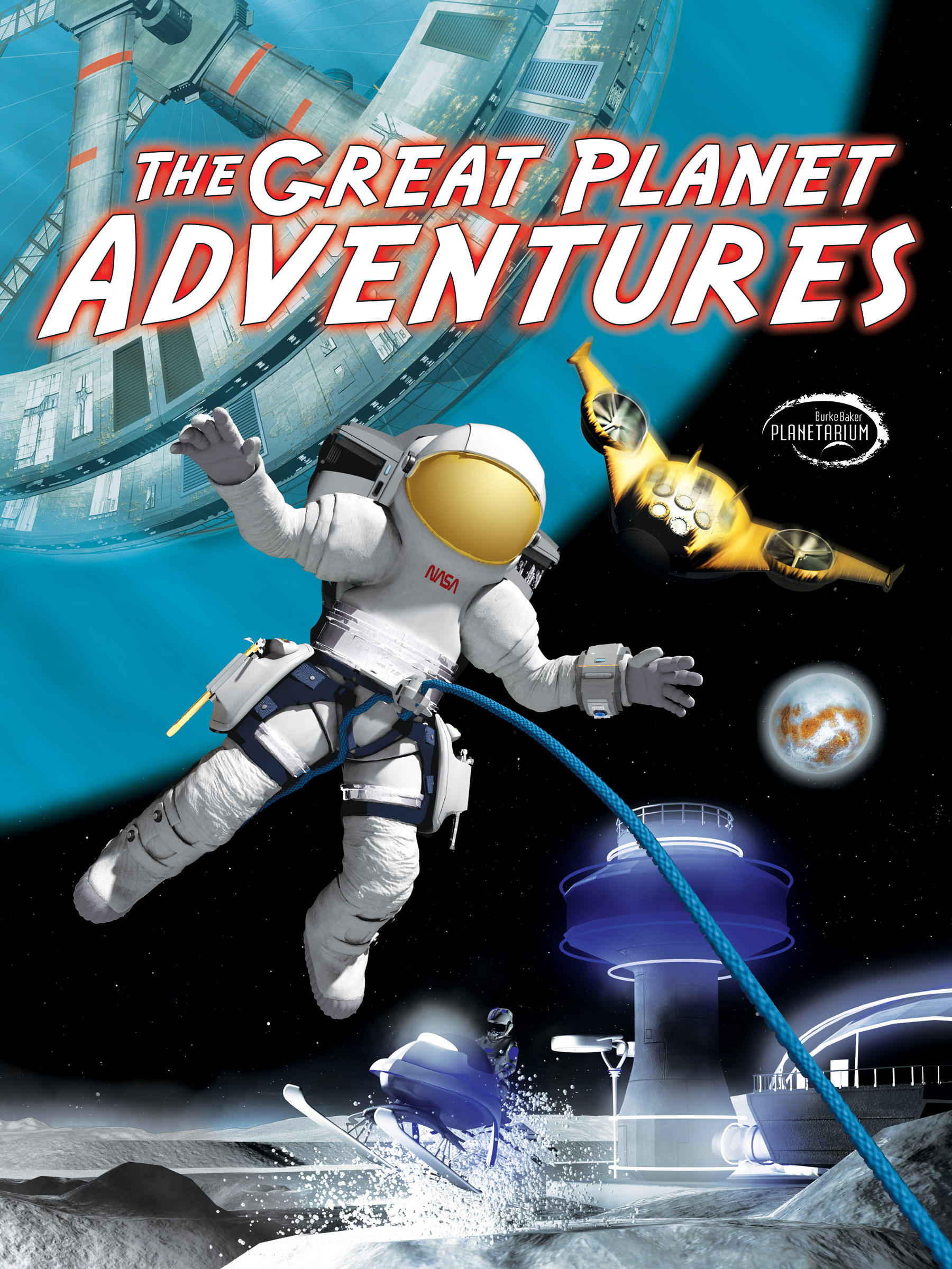 Planetarium Show Poster