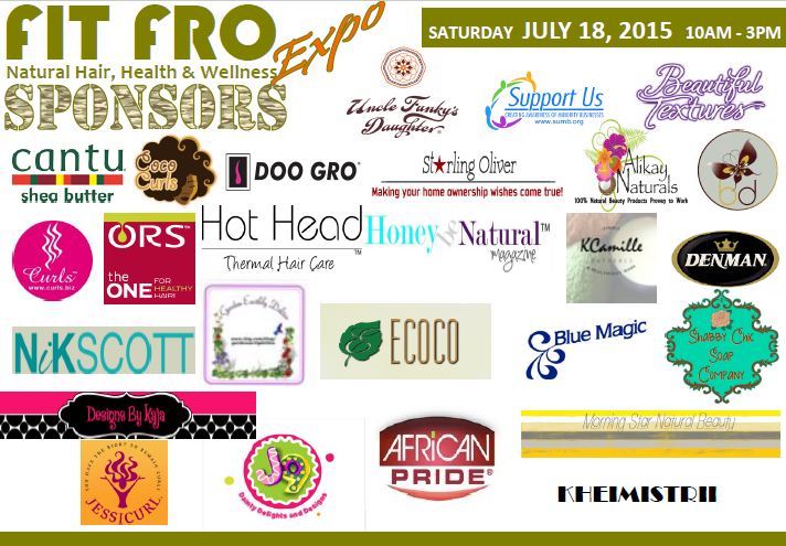 2015 Fit Fro Sponsors