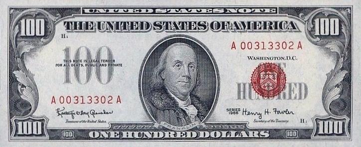 #100 USD