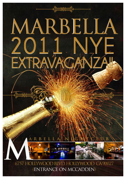 Marbella New Years Eve 2011 Tickets, Hollywood - Eventbrite