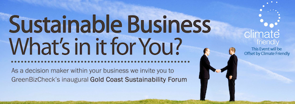 Sustainable Business - What's in it for You?