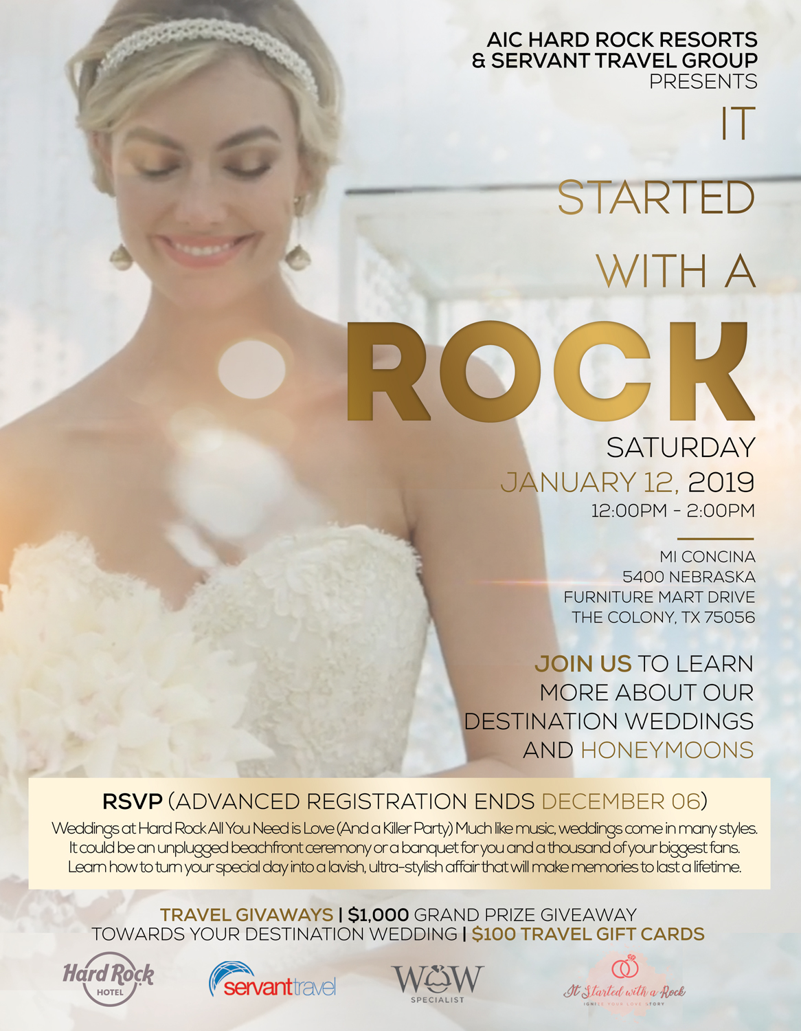 Destination Wedding & Honeymoon Bridal Show
