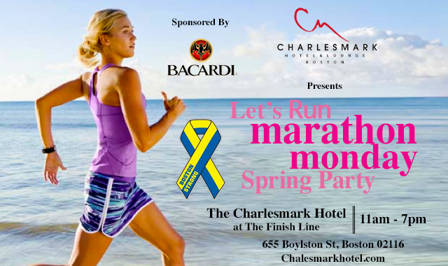 marathon monday day party the charlesmark hotel boston. Black Bedroom Furniture Sets. Home Design Ideas