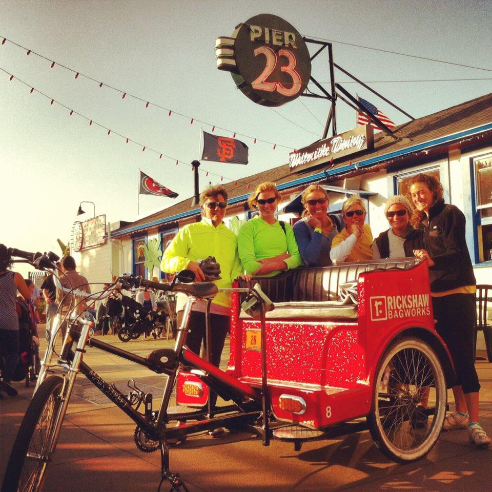 cabrio taxi pedicab tour