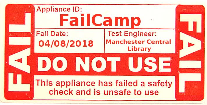 failcamp ticket