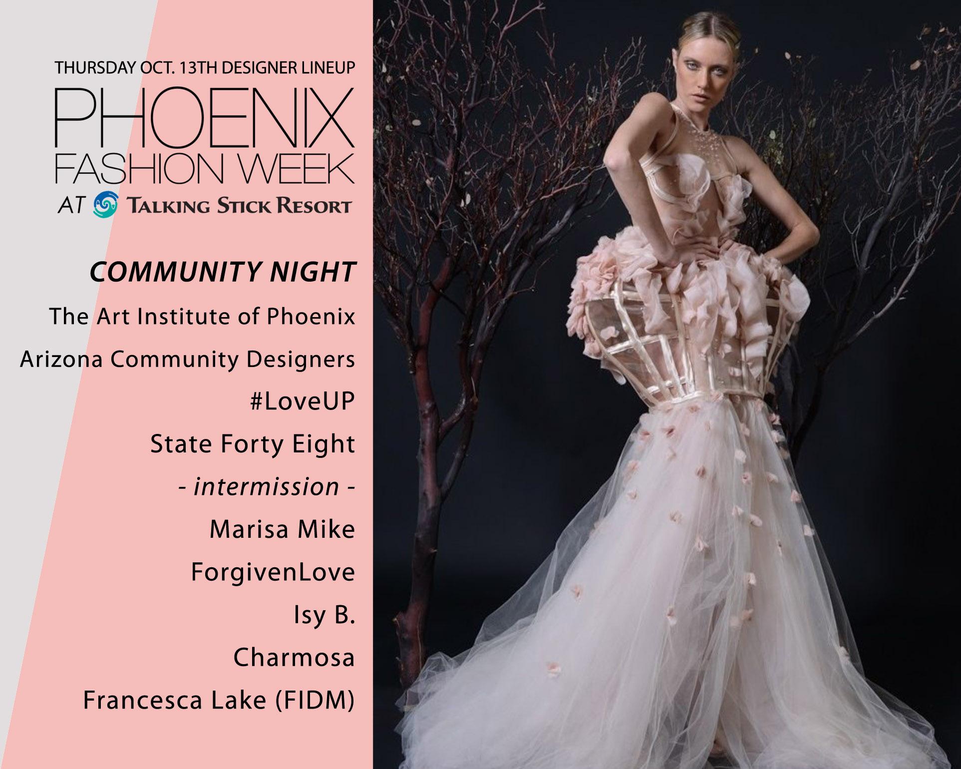 Phoenix Fashion Week Talking Stick Resort Oct 13 15 24