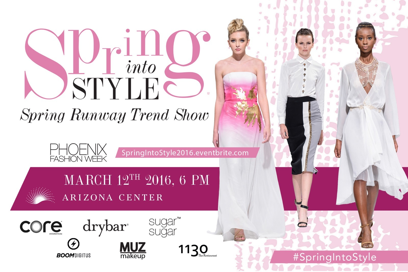 Spring Into Style 2016 6 Runway Trend Shows Sat Mar 12th Tickets Sat Mar 12 2016 At 6