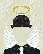 bowler hat angel