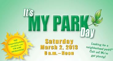 IT'S MY PARK DAY DALLAS! SPRING 2013