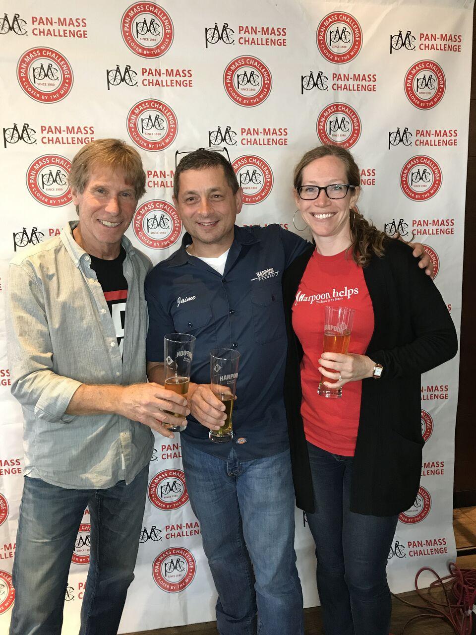 Harpoon PMC Beer Launch