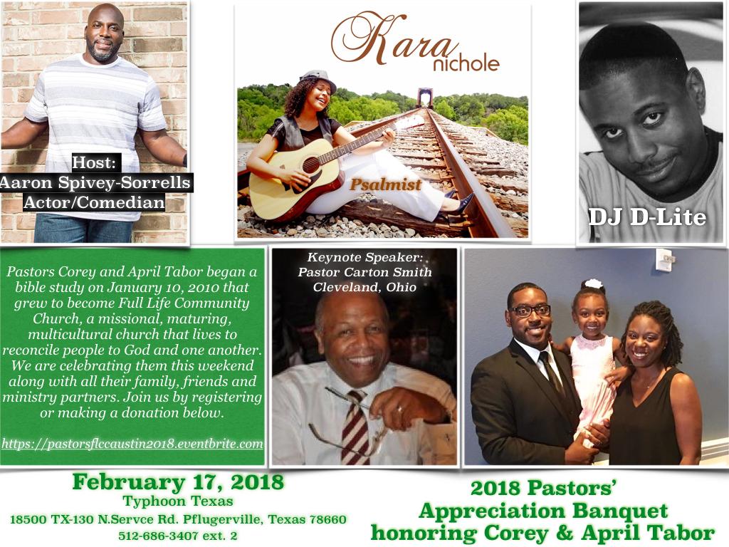 Pastors Appreciation 2018