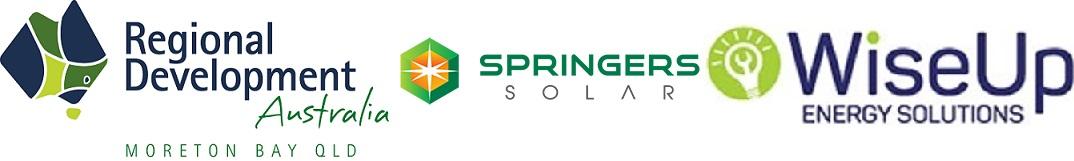 rda moreton bay springer and wiseup logo