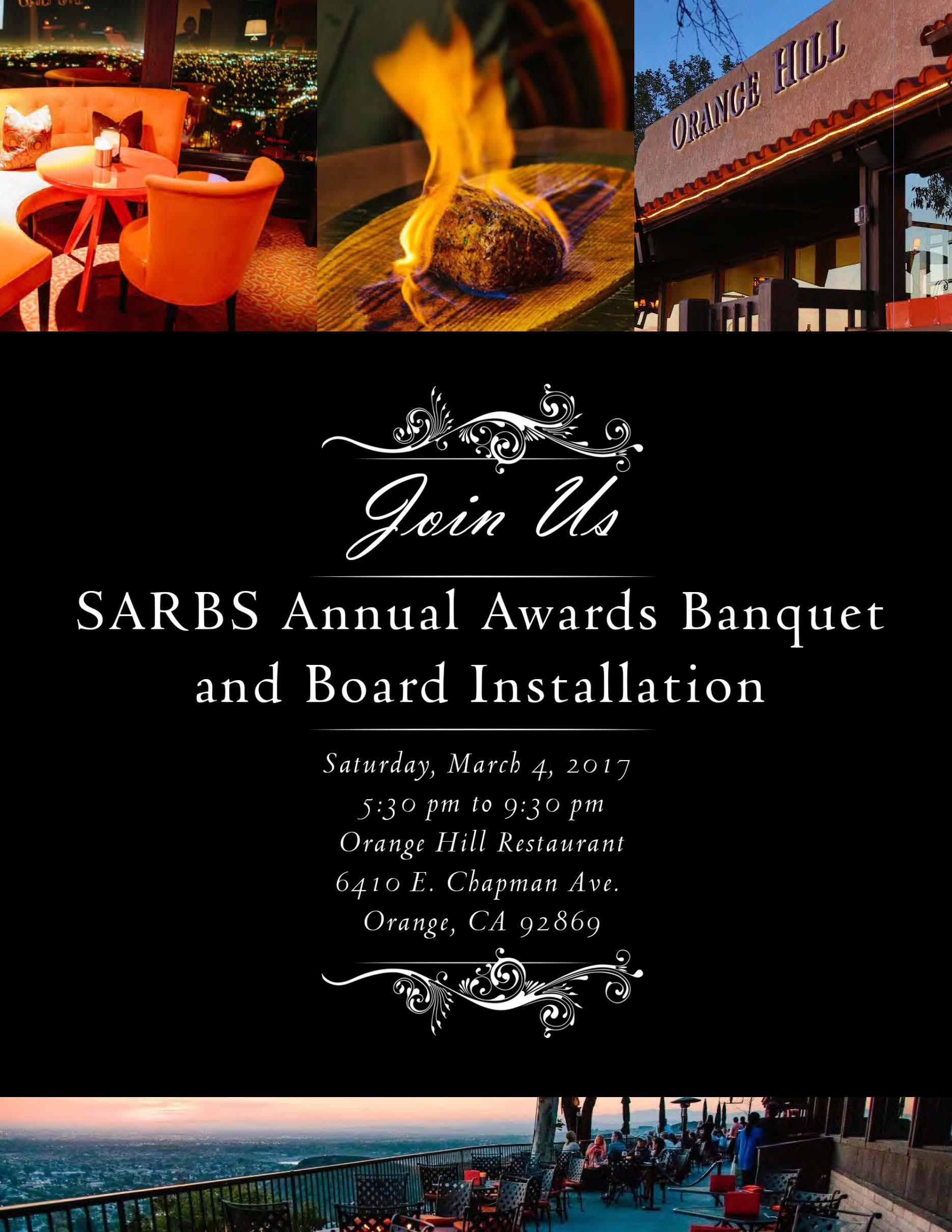 sarbs annual awards banquet 2017 page 1