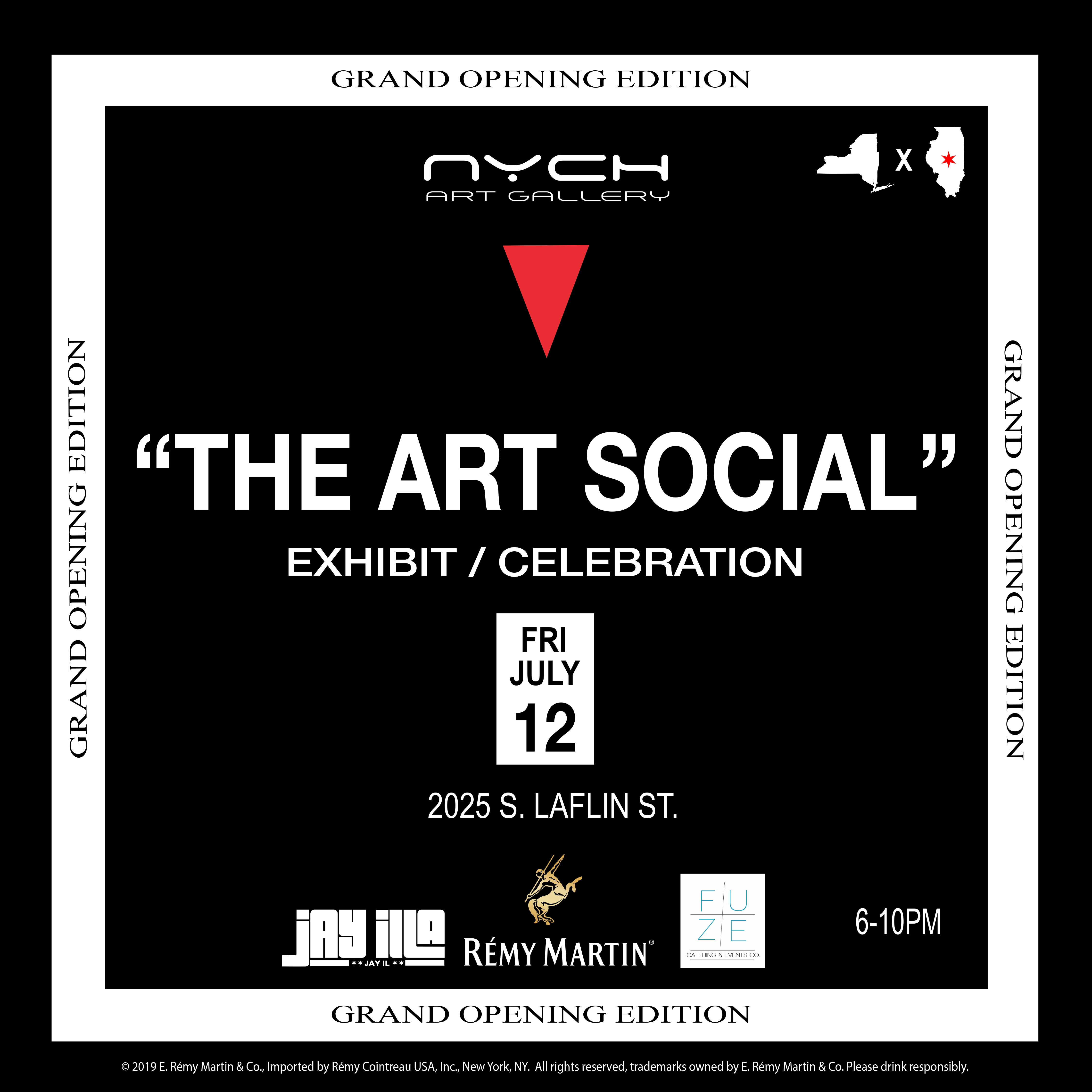 NYCH Gallery x THE ART SOCIAL