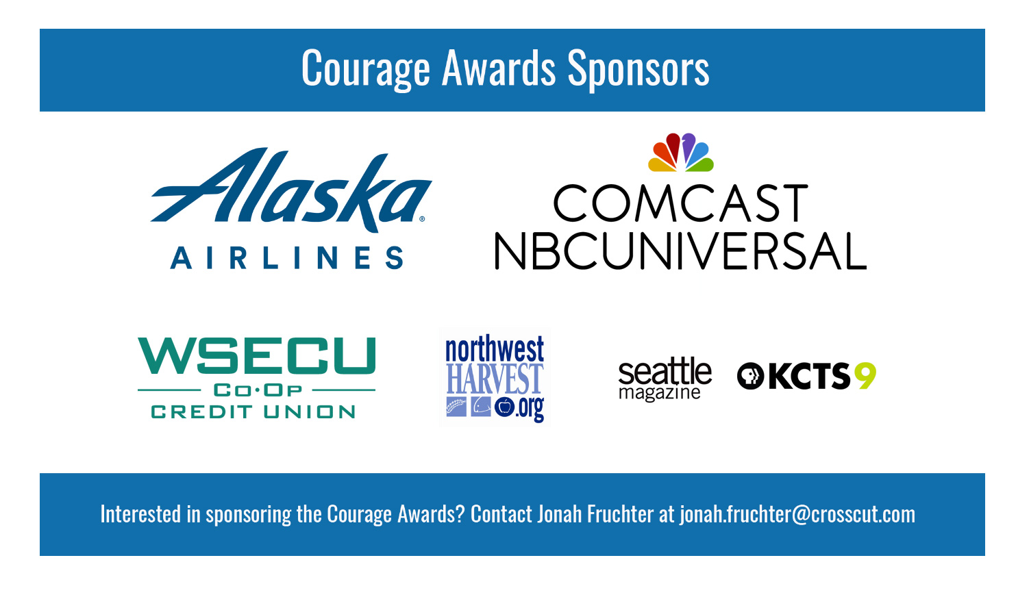 Courage Award Sponsors