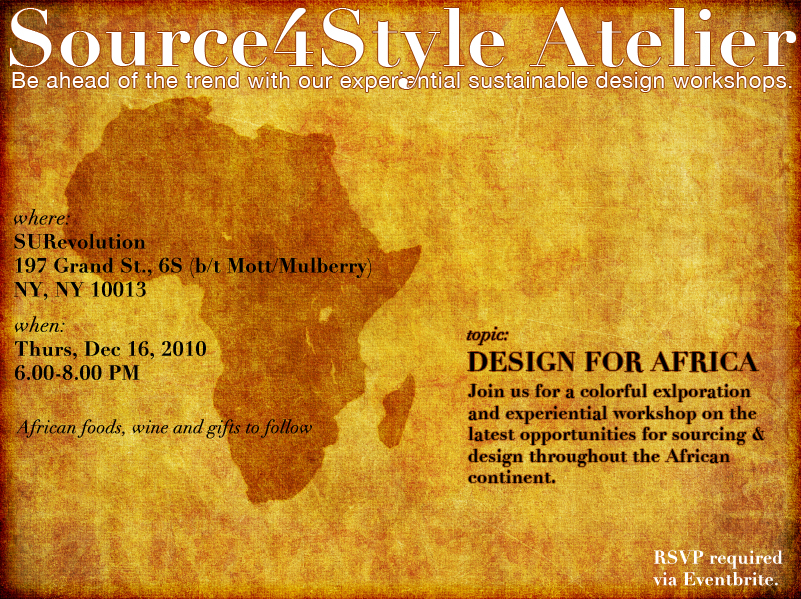 Source4Style Africa Atelier