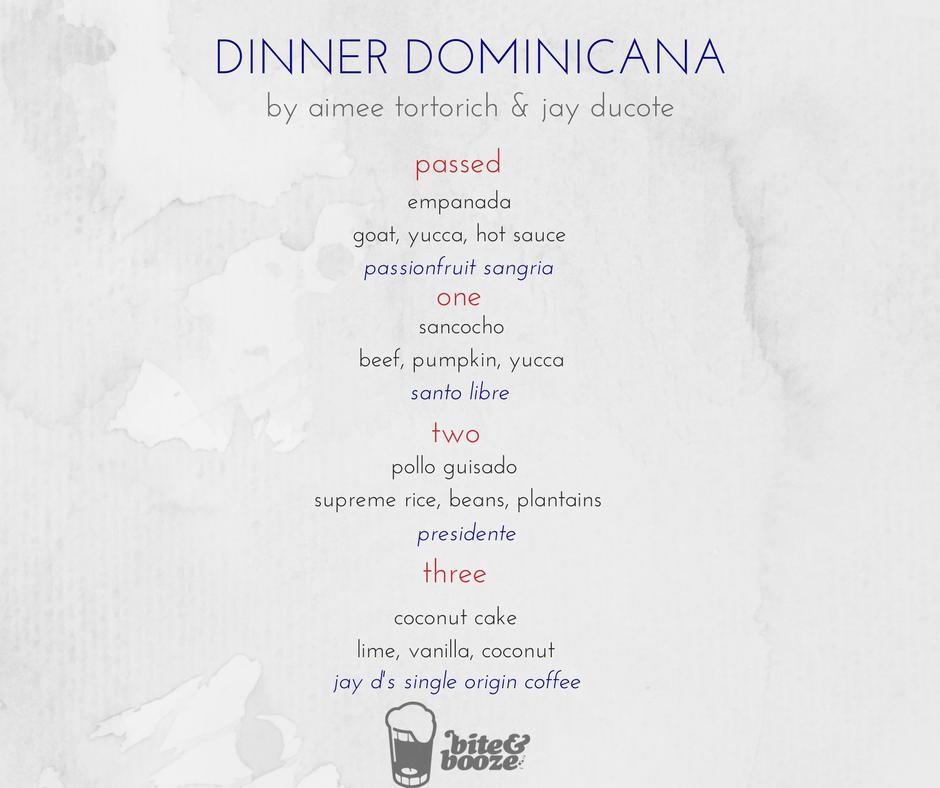 Dinner Dominicana