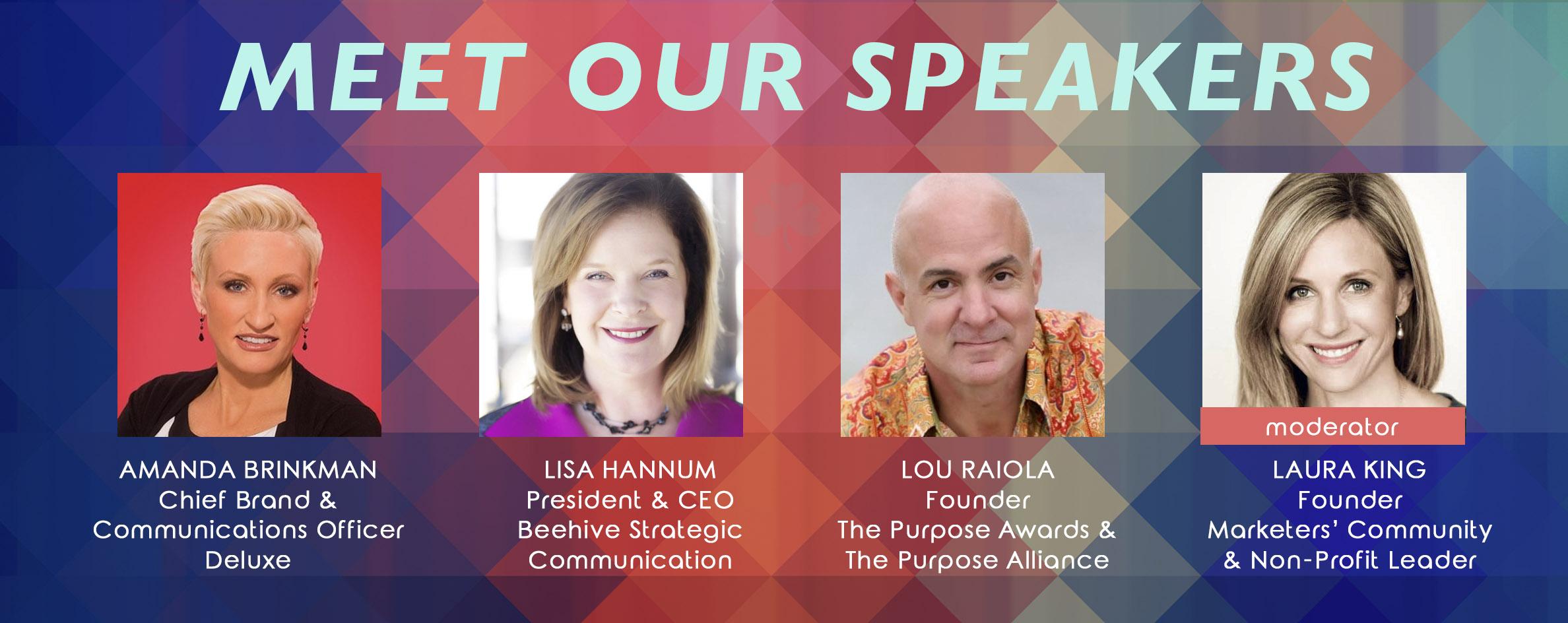 Meet our Speakers