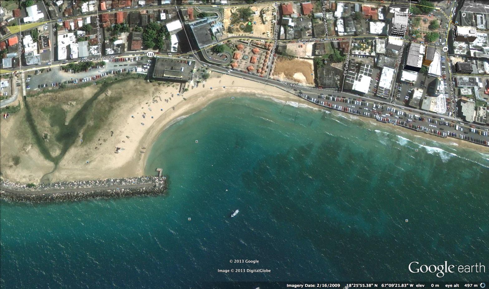 Rompe Olas Beach, Aguadilla