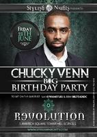 CHUCKY VENN BIG BIRTHDAY PARTY