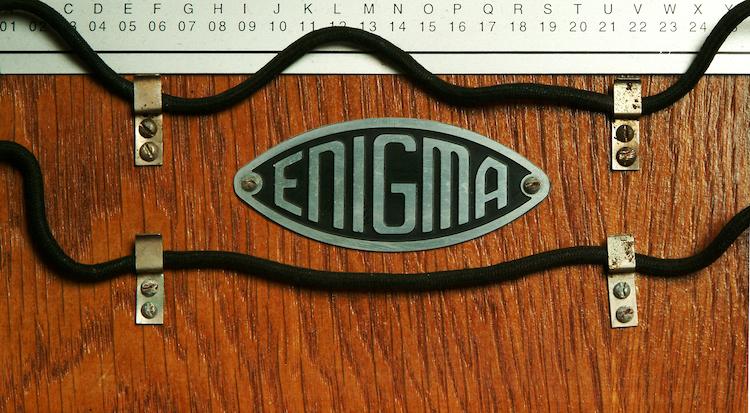 Enigma machine - photo (c) Simon Singh/University of Cambridge