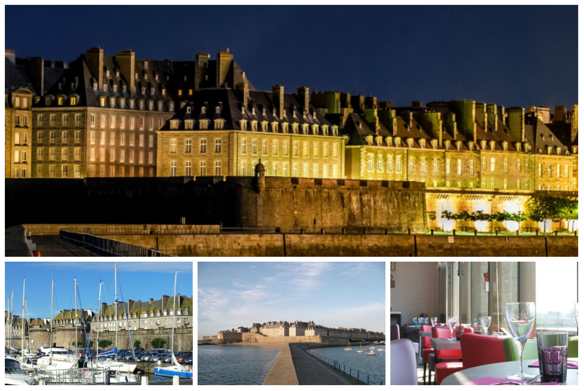 Extra Muros St Malo Collage